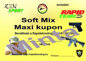 Élménylövészet Soft Mix Maxi kupon