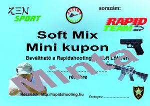 Élménylövészet Soft Mix Mini kupon